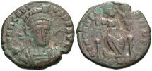 Ancient Coins - Arcadius. A.D. 383-408. Æ. Constantinople. Fine, brown and green patina.