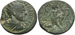 Ancient Coins - Syria, Seleucis and Pieria. Raphanea. Elagabalus. A.D. 218-222. Æ. Fine, green patina.