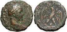 Ancient Coins - Syria, Seleucis and Pieria. Antiochia ad Orontem. Elagabalus. A.D. 218-222. Æ tetradrachm. Fine, brown patina, rough.