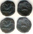 Ancient Coins - Parthia, Phirapatius to Mithradates I, 180-175 BC AE chalkos, 4.40 gr, 18 mm