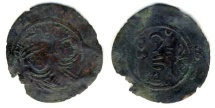 World Coins - Arab- Sasanian,, Gyanbud, AE fals, 1.05 gr, 25 mm