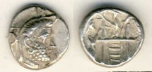 Ancient Coins - Persis, unknown king, c. 2nd half of 2nd century BC, AR drachm, 4.10 gr, choice VF