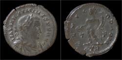 Ancient Coins - Maximinus II AE follis Genius standing left