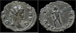 Ancient Coins - Gallienus billon antoninianus Jupiter advancing left