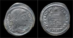 Ancient Coins - Constantine I AE3 campgate