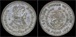 World Coins - Mexico 1 peso 1961
