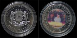 World Coins - Somalia 250 shilling 2005- The life of pope John Paul II