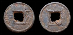 Ancient Coins - China Liang Dynasty Emperor Wu of Liang iron Wu Zhu cash