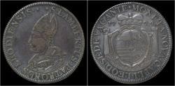World Coins - Southern Netherlands Liege Sede Vacante Ecu au St.Lambert 1724.