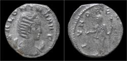 Ancient Coins - Salonina AR antoninianus Juno standing left