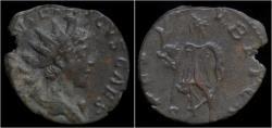 Ancient Coins - Tetricus II billon antoninianus Spes advancing left