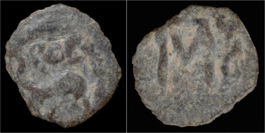 Ancient Coins - Chach Unknown ruler AE