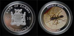World Coins - Malawi- 10 kwacha 2010- Endangered frogs- Blue poison arrow