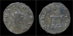 Ancient Coins - Divo Claudius II Gothicus billon antoninianus flaming altar