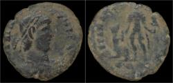 Ancient Coins - Barbaric radiates Barbaric AE22 of Gratian