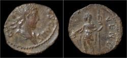 Ancient Coins - Tetricus II billon antoninianus Tetricus standing left