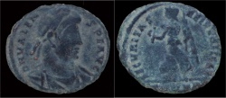 Ancient Coins - Valens AE19