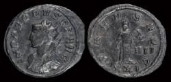 Ancient Coins - Probus billon antoninianus Salus standing right