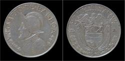 World Coins - Panama 1/4 balboa 1962