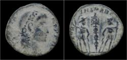 Ancient Coins - Constantius II AE follis.