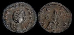 Ancient Coins - Salonina billon antoninianus Vesta seated left.