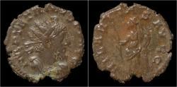 Ancient Coins - Tetricus I billon antoninianus Hilaritas standing left