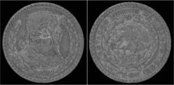 World Coins - Mexico 1 peso 1960.