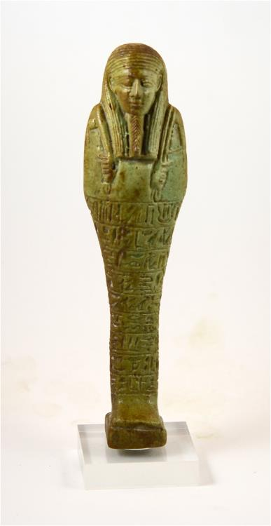 Ancient Coins - Egypt TIP 30th Dynasty large shabti for Hormaakherou-from the famous Mustaki collection