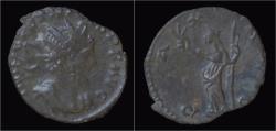 Ancient Coins - Tetricus I billon antoninianus Pax standing left.