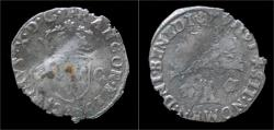 World Coins - France Charles X douzain.