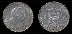 Ancient Coins - Netherlands Wilhelmina I 1 gulden 1931