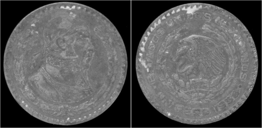 World Coins - Mexico 1 peso 1958.