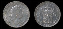 Ancient Coins - Netherlands Wilhelmina I 1 gulden 1938