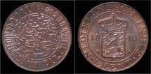 World Coins - Netherlands Indies 1/2 cent 1945- UNC