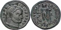 Ancient Coins - Licinius AE follis Jupiter standing left
