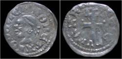 World Coins - Hungary Louis I (Ludwig I) AR denar