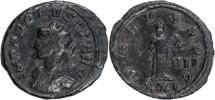 Ancient Coins - Probus billon antoninianus Salus standing right