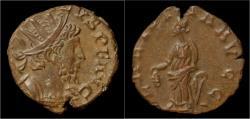 Ancient Coins - Tetricus I billon antoninianus Laetitia standing left