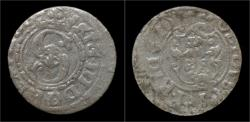 World Coins - Poland Sigismund III silver szelag 1620 Bydgorz mint