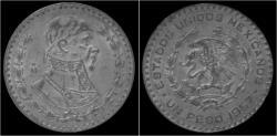 World Coins - Mexico 1 peso 1957
