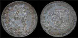 World Coins - Mexico 1 peso 1962