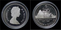 World Coins - Canada 1 dollar 1987- brigg Sunshine