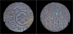 World Coins - Latvia Christina from Sweden billon schilling 1644