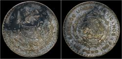 World Coins - Mexico 1 peso 1964