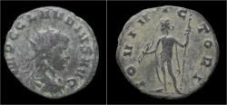 Ancient Coins - Claudius II Gothicus billon antoninianus Jupiter standing left