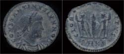 Ancient Coins - Constantine II half follis.