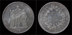 World Coins - France 10 francs 1965 - Hercules