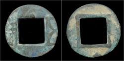 Ancient Coins - China Liang Dynasty Emperor Wu - Wu Zhu cash
