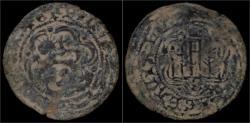 World Coins - Spain Felipe IV blanca