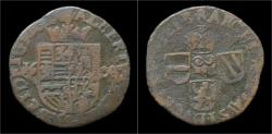 World Coins - Southern Netherlands Brabant Albrecht&Isabella liard(oord)1608